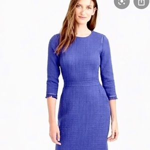 J. Crew Blue Dress Size 12